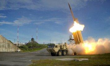 ASV veiksmīgi izmēģina pretraķešu aizsardzības sistēmu THAAD