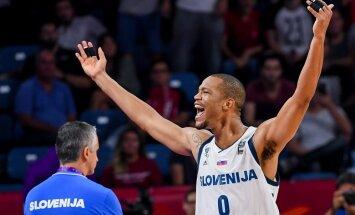 Slovēnijas izlases basketbolists Rendolfs pēc zaudējumiem Latvijai un Turcijai noslēgs karjeru valstsvienībā