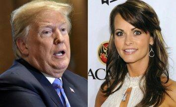 Ierakstītas sarunas, kurās Tramps spriež par maksājumu 'Playboy' modelei