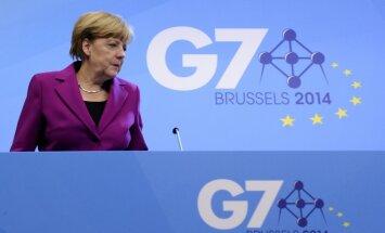 G7 pieprasa Krievijai pārtraukt destabilizēt situāciju Ukrainā un piedraud ar jaunām sankcijām