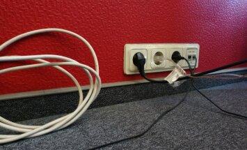 Aicina pārbaudīt objektu iekšējo elektrotīklu