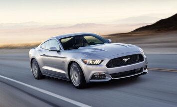 Eiropā jauno 'Ford Mustang' jau pasūtinājuši vairāk nekā 2000 klientu