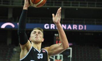 Meieram 'double-double' 'Jeņisej' zaudētā FIBA Čempionu līgas spēlē