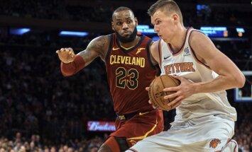 Чемпионат НБА: Порзиньгис сыграл против Леброна Джеймса