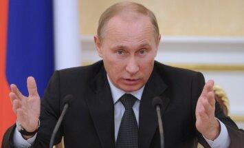 Putins: Spēka pielietošana Ukrainā būs tikai 'pēdējais līdzeklis'