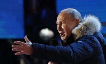 """Путин выступил на митинге и ответил на вопросы по Украине и """"делу Скрипаля"""""""