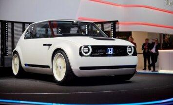 Eiropas tirgū retro stila 'Honda' elektromobilis nonāks 2019. gadā
