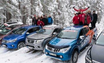 Interesantākā auto grupa un īpašā nominācija 'Latvijas Gada pikaps 2017'