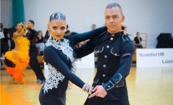Latvijas pāris iekļūst ceturtdaļfinālā pasaules čempionātā Latīņamerikas dejās