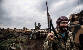 Karte: Kā turki iebrūk Afrīnā, vienīgajā pilsoņkara neskartajā Sīrijas reģionā