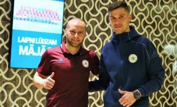 Futbola izlases kandidātu sarakstā Vardanjanu un Višņakovu aizstāj Ošs un Siņeļņikovs
