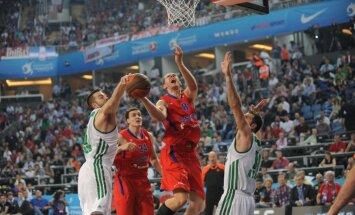 CSKA basketbolisti gāž no Eirolīgas troņa 'Panathinaikos'