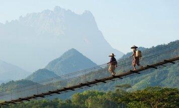 Cilvēka roku darināti brīnumi - neparastākie tilti pasaulē