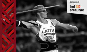 Vidējais latvietis pret olimpieti Zigismundu Sirmo. Video tiešraide noslēgusies