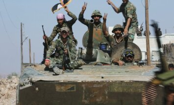 Sīrijas armija ar Krievijas atbalstu atgūst teritorijas