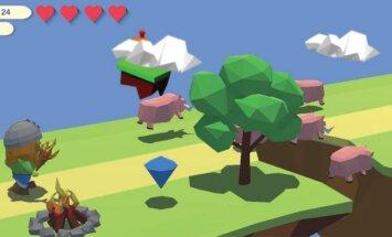Latviešu studenti izveido Android spēli 'Rugged Run'