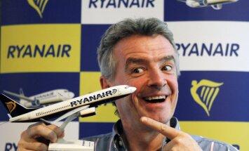 Глава Ryanair рассказал о бесплатных билетах на авиарейсы