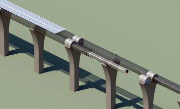 Илон Маск показал видео c испытаний скоростного тоннеля