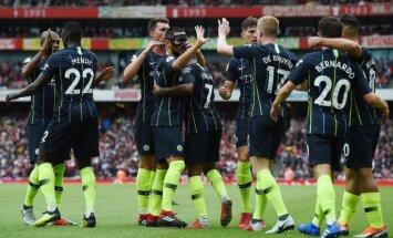 'City' titula aizstāvēšanu sāk ar panākumu; uzvar arī 'Liverpool'