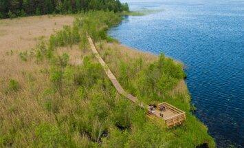 Для бегунов, пловцов и любителей прогулок: отдыхаем у озера Бушниеку
