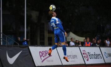 RFS futbolisti pārliecinoši apspēlē virslīgas pastarīti 'Valmiera Glass'/ViA