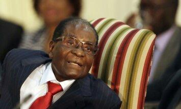 PVO vadītājs anulē Mugabes iecelšanu par labas gribas vēstnieku