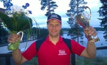 Uvis Slakteris PČ ūdens motosportā iesāk ar otro vietu Somijā