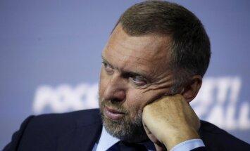 Sankcijas piespiedušas Krievijas oligarhu Deripasku atteikties no privātajām lidmašīnām