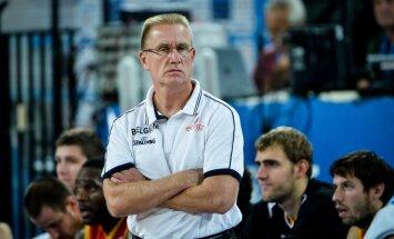 Beļģijas izlases treneris un spēlētāji apzinās Latvijas valstsvienības ambīcijas 'Eurobasket 2017'