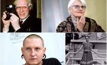 No Vorhola līdz Džemmai Skulmei. 10 mākslinieki – modes ikonas – Latvijā un pasaulē