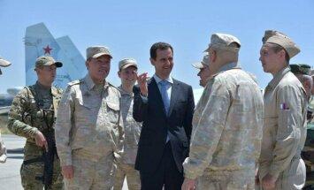 Krievija līdz gada beigām samazināšot militāro klātbūtni Sīrijā