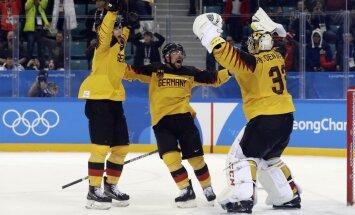 Канадцы проиграли олимпийский полуфинал, российские хоккеисты сыграют в финале с Германией