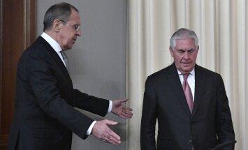 Путин обсудил с Тиллерсоном удар США по Сирии