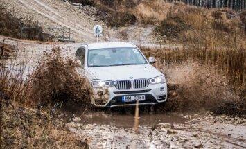 Foto: Pilnpiedziņas BMW izmēģinājumi trasē '333'