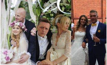 Vasara mīlas zīmē: top 10 latviešu slavenību kāzas