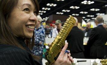 Foto: Amerikāņu ieroču cienītāji pulcējas ikgadējā izstādē