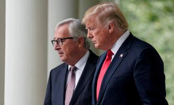 В торговом конфликте между США и ЕС наметилась разрядка