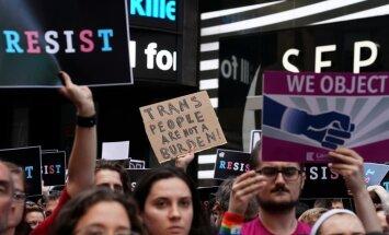 ASV armijas amatpersonas nostājas pret Trampu: transpersonas joprojām var dienēt