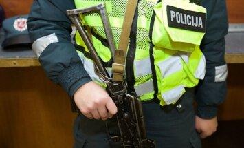 Полиция Литвы отказывается от использования автоматов