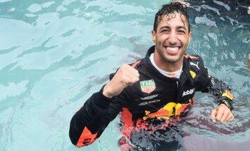 Риккардо стал победителем Гран-при Монако даже на забарахлившем моторе