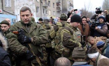 """Лидер ДНР Захарченко готов """"освободить"""" весь Донбасс военным путем"""