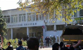 Slaktiņu Krimas koledžā sarīkojis tās audzēknis