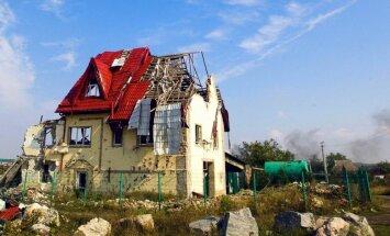 Foto: Donbass karadarbībā zaudējis 80% sava ekonomiskā potenciāla