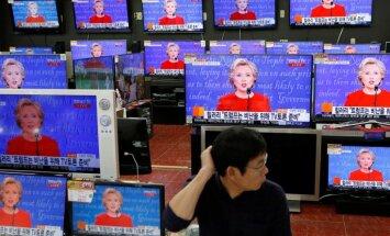 Наблюдатели: Клинтон на первых дебатах выглядела увереннее Трампа