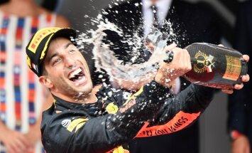 Rikjardo triumfē F-1 Monako 'Grand Prix' izcīņā