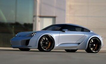 'Bugatti' dizaineris uzzīmējis savu ideālo 'Porsche 911'