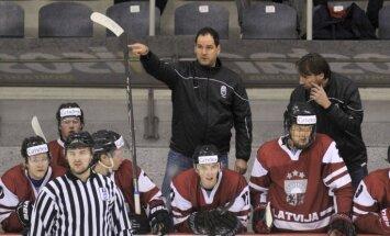 Latvijas U-20 hokejisti ar uzvaru sāk cīņu par atgriešanos PČ augstākajā divīzijā