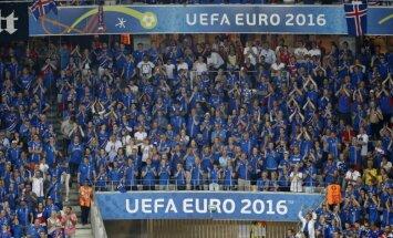 Islandieši arī Pasaules kausā sola tikpat iespaidīgu fanu armiju kā EURO 2016