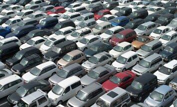 Latvijā šogad straujāks jaunu auto reģistrācijas pieaugums par ES vidējo