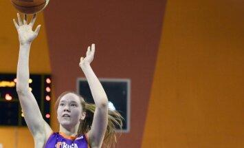D.Strautmane un Strautiņš atzīti par sezonas labākajiem Latvijas jaunajiem basketbolistiem